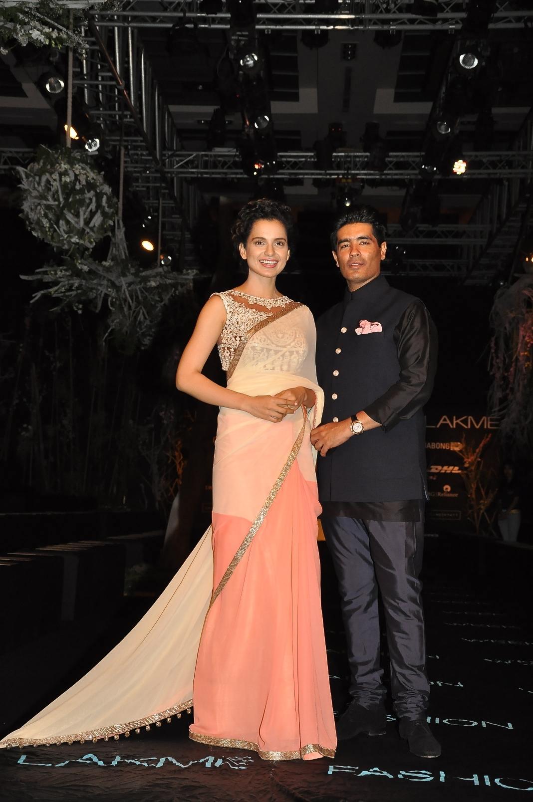 Kangana Ranaut and Manish Malhotra