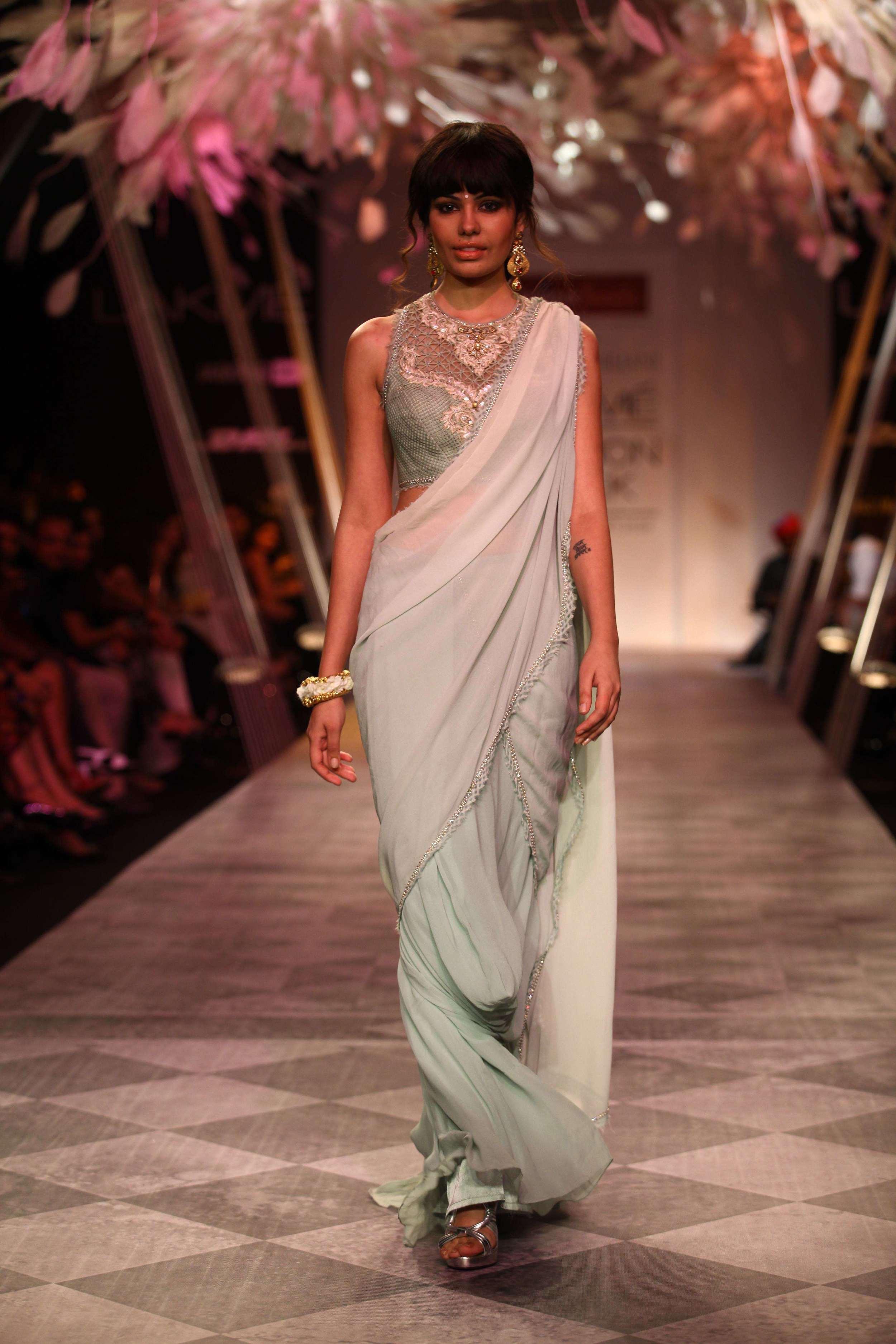 Tarun Tahiliani SS'14 Collection at LFW SR 2014 17.jpg