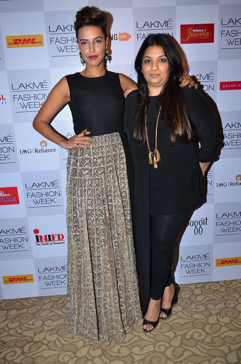 Neha Dhupia and Payal Singhal