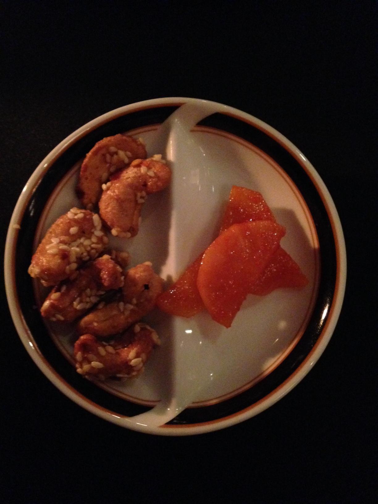 Chilli Honey Cashews