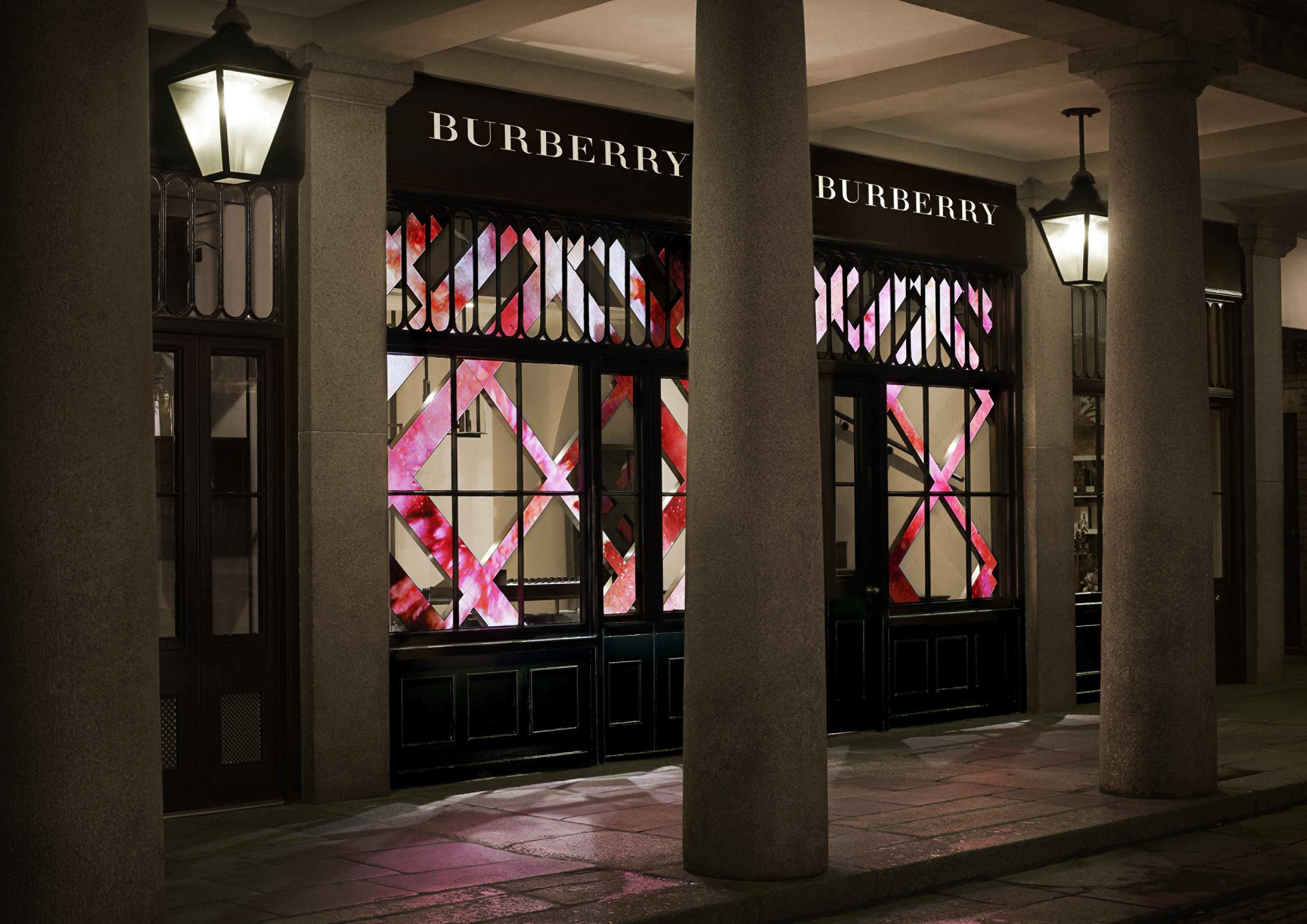 Exterior of the Burberry Beauty Box