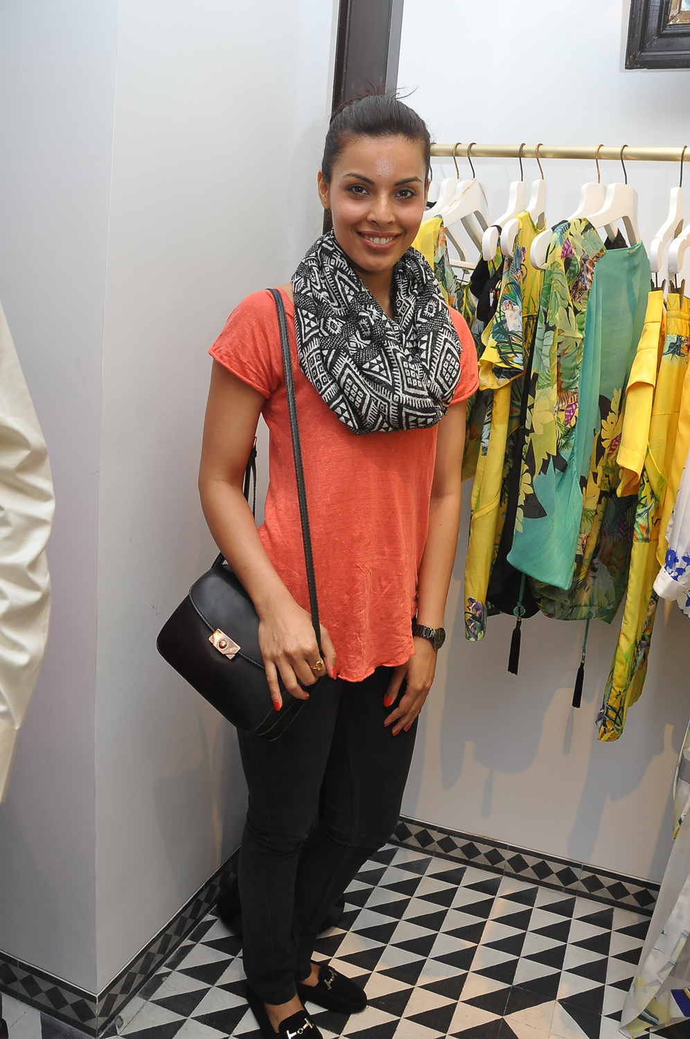 Model Deepti Gujral at the T&G launch.JPG
