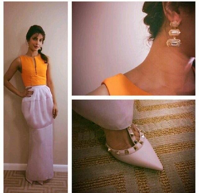 Priyanka Chopra in Dior & Valentino
