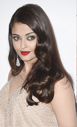 Aishwarya Rai in Armani and Chopard