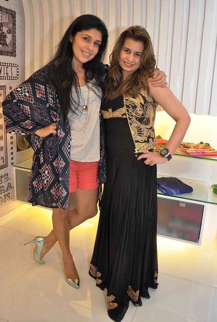 Anaita Shroff Adajania and Sanya Dhir