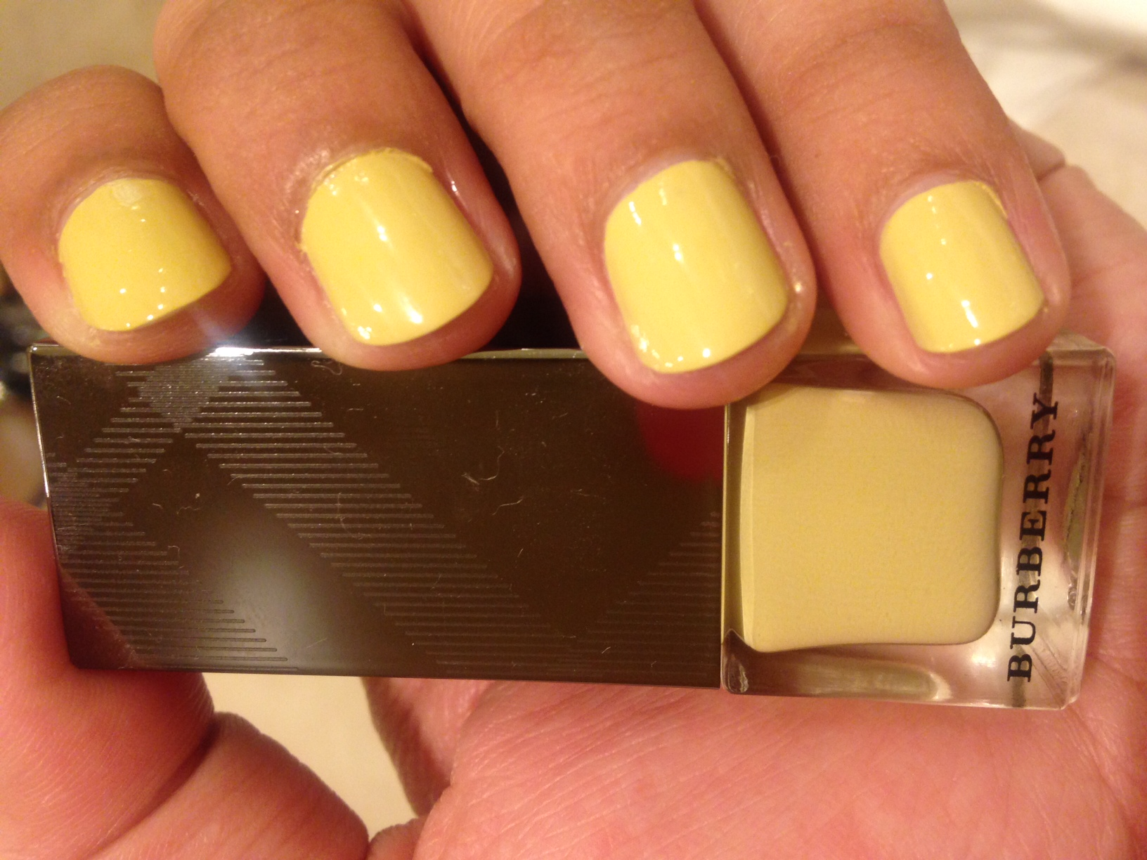 Pale Yellow From Burberry Beauty