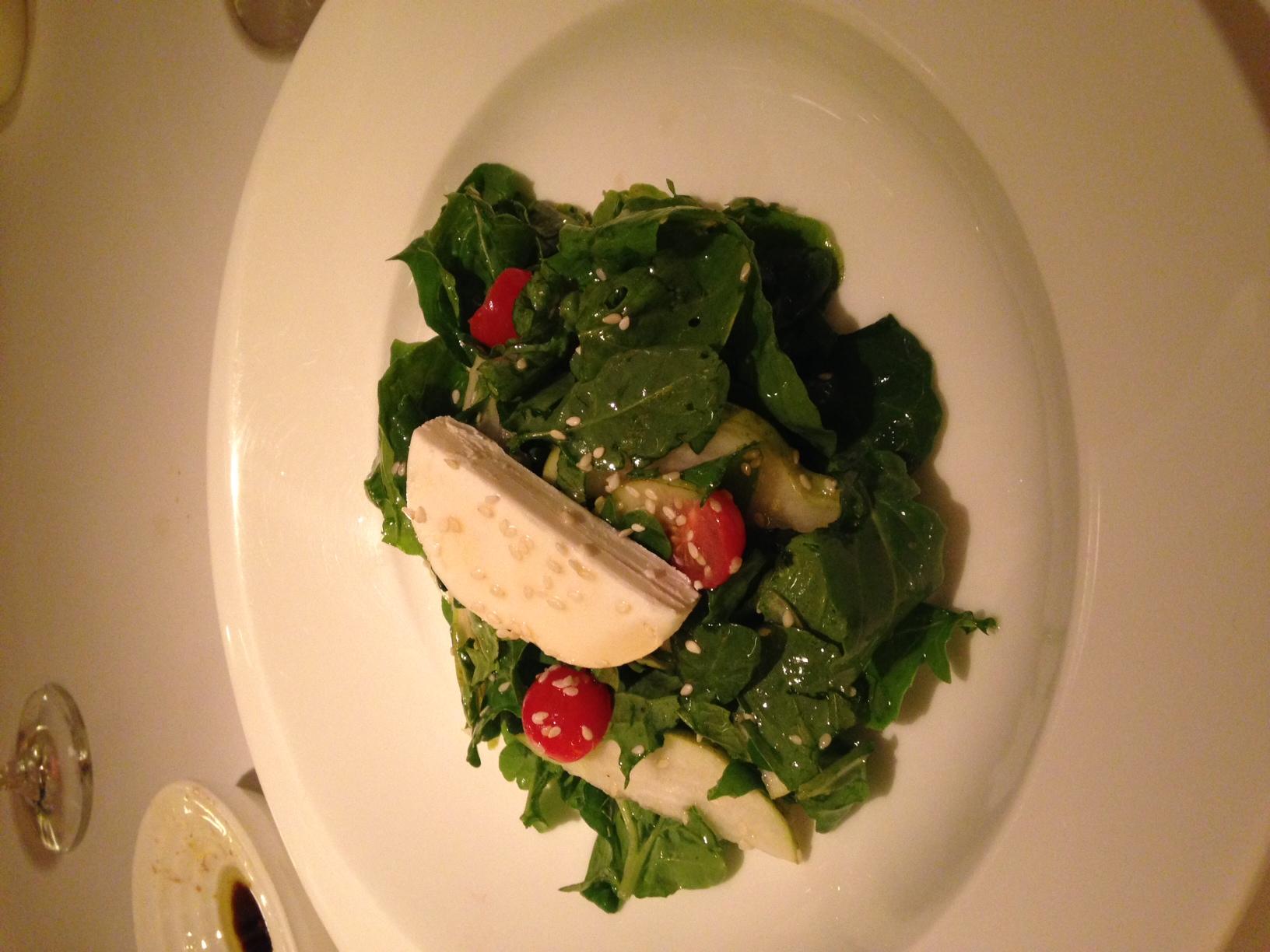 Goat Cheese and Arugula Salad