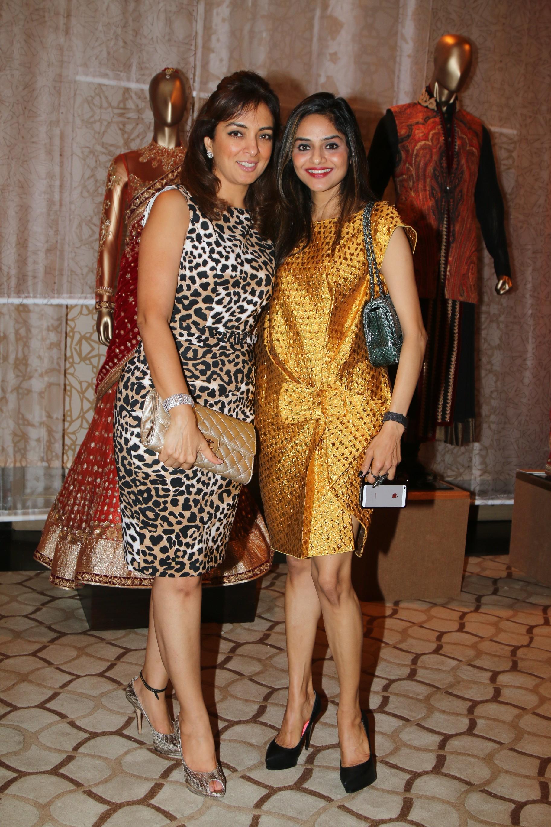 Lata Patel and Madhu Shah
