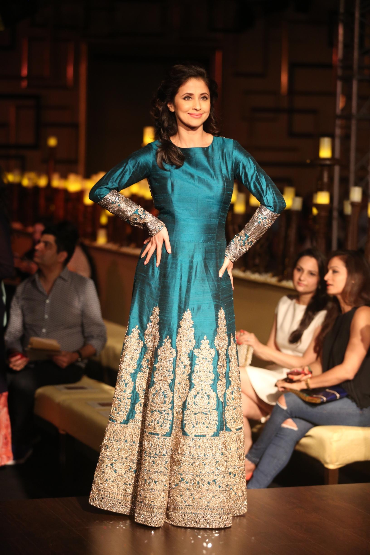 Urmila in Manish Malhotra at India Couture Week 2014