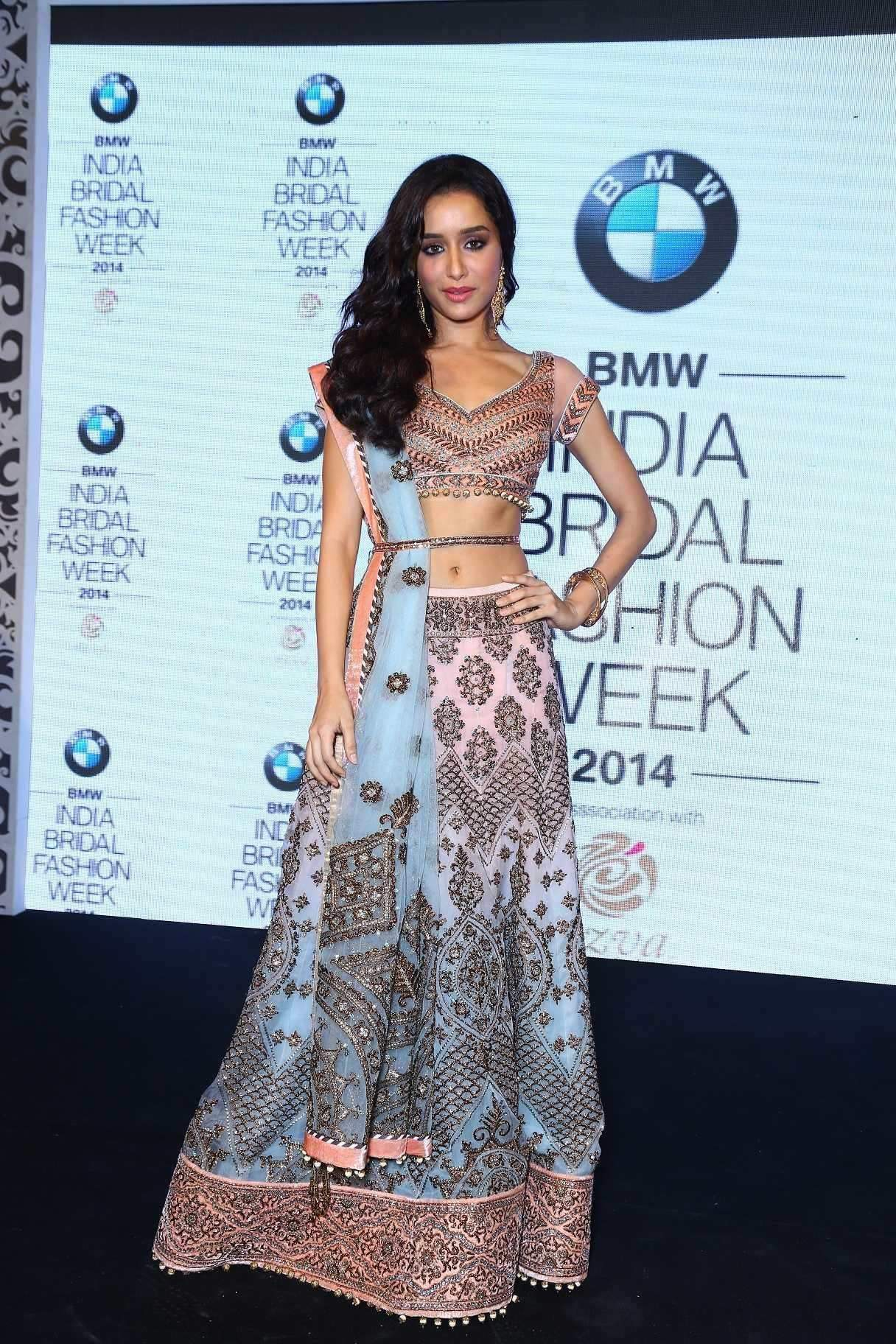Shradhha Kapoor in a stunning JJ Valaya creation.