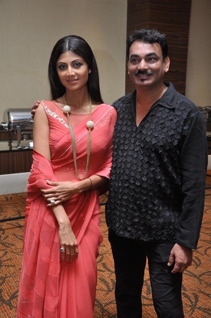 Shilpa Shetty Kundra and Wendell Rodricks