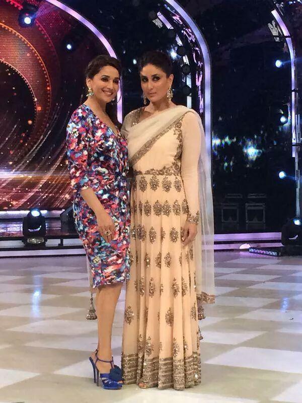 Madhuri Dixit in Saloni & Kareena Kapoor in Manish Malhotra