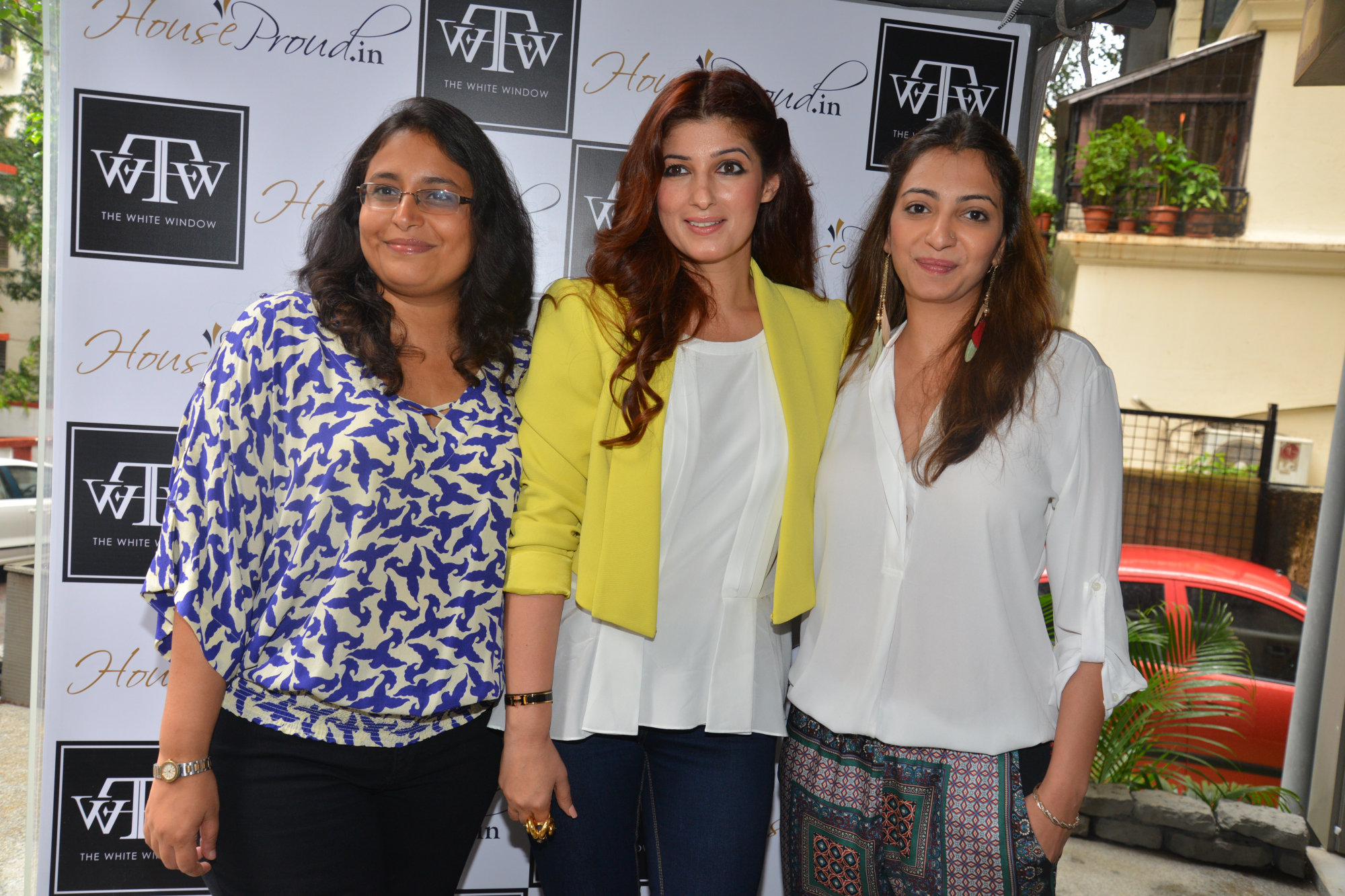 Sanvari Alagh Nair, Twinkle Khanna and Anjori Alagh