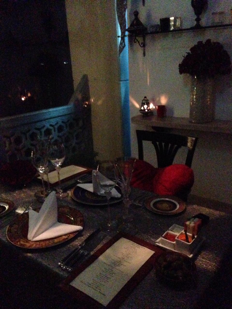 Casablanca Room At Souk, Taj Mahal Place Hotel