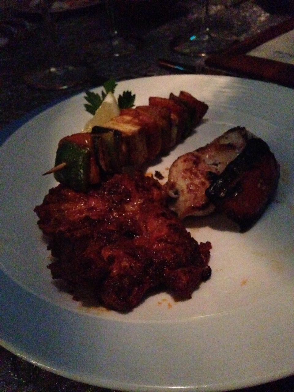 Grilles ~ Turkish Grilled Vegetable, Sheesh Taouk, Farooz Meshwi