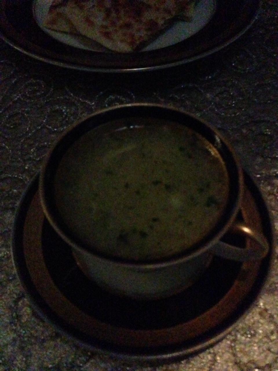 Soup ~ Shorba Dijaj with Cheese Talas