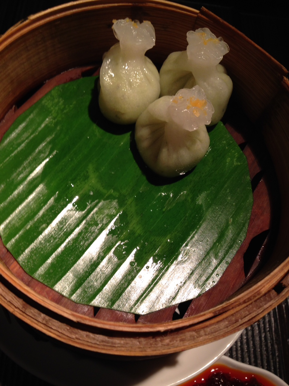 Truffle Edamame Dumpling