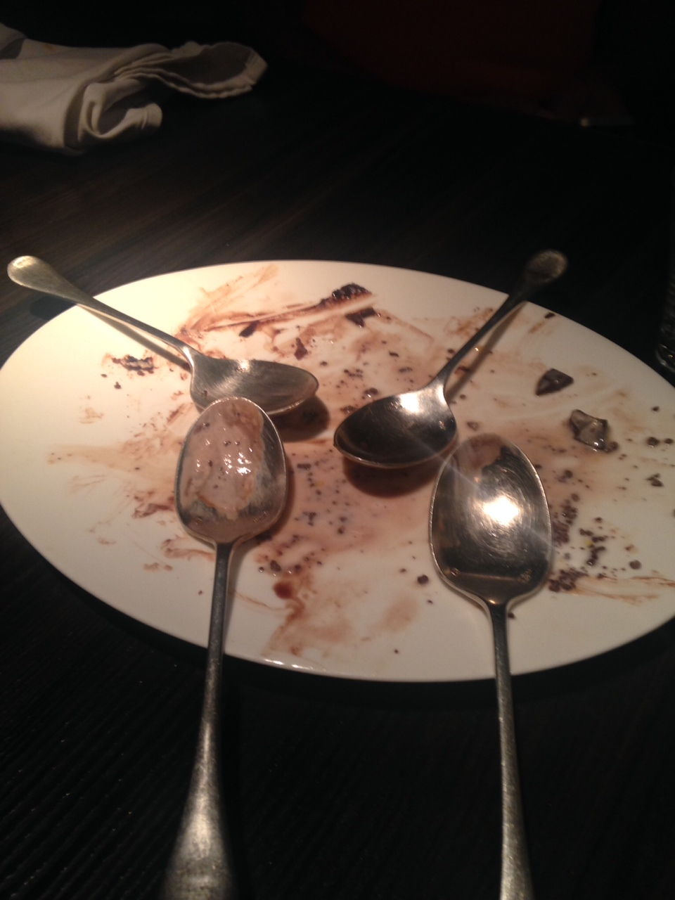 The End of A Good Meal :-)