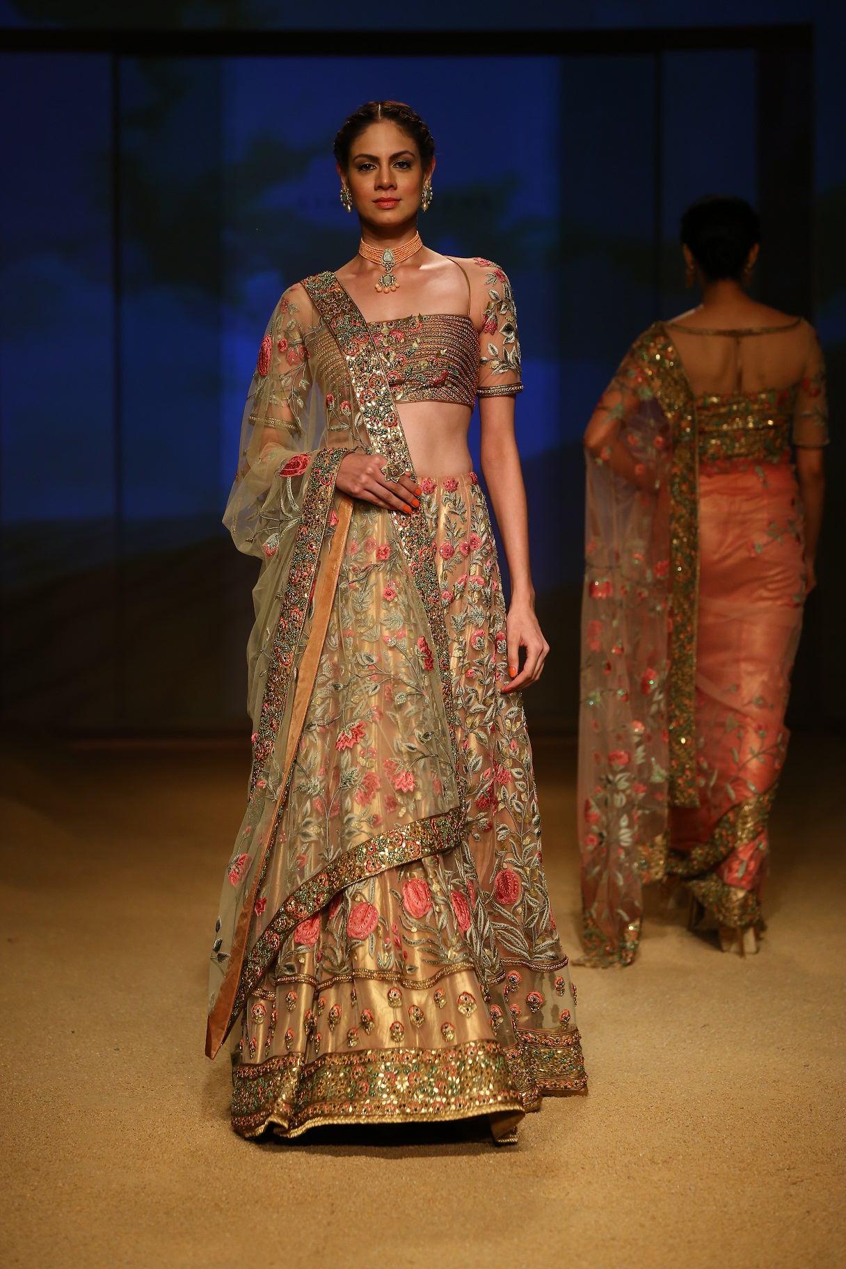 Seen at BMW India Bridal Fahsion Week 2014 in association with AZVA at  Ashima Leena's  show at DLF Emporio (30).jpg