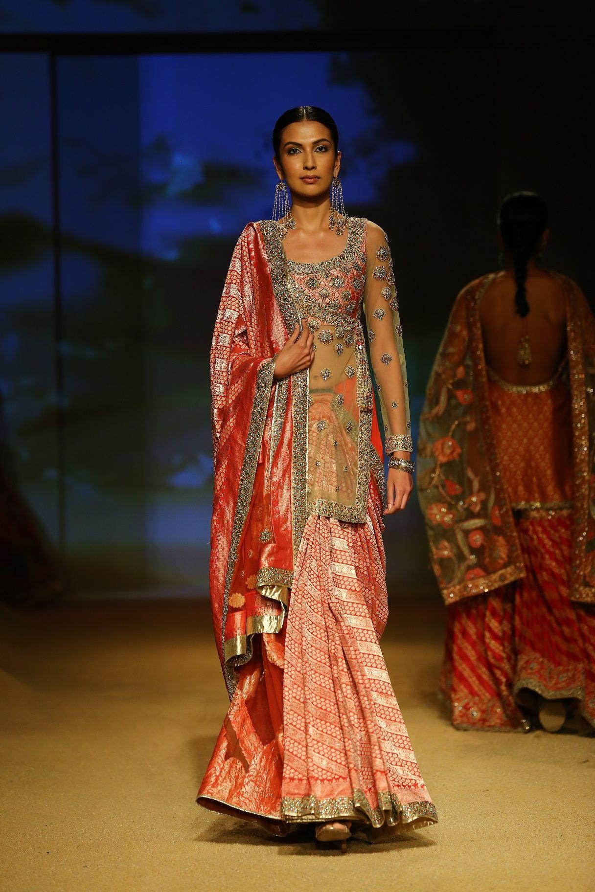Seen at BMW India Bridal Fahsion Week 2014 in association with AZVA at  Ashima Leena's  show at DLF Emporio (31).jpg