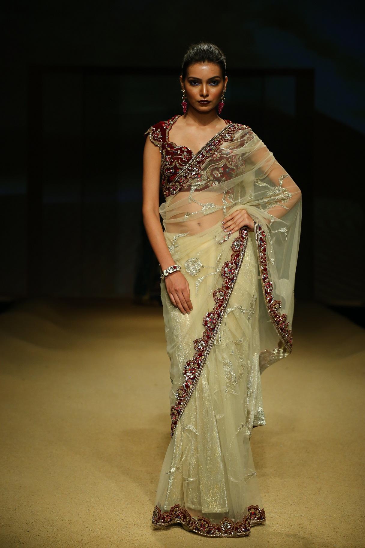 Seen at BMW India Bridal Fahsion Week 2014 in association with AZVA at  Ashima Leena's  show at DLF Emporio (39).JPG