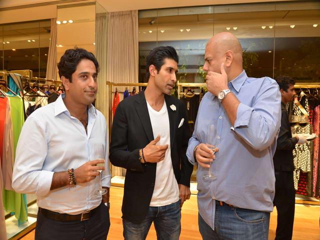 Aditya Khilachand, Uraaz Behl with a friend