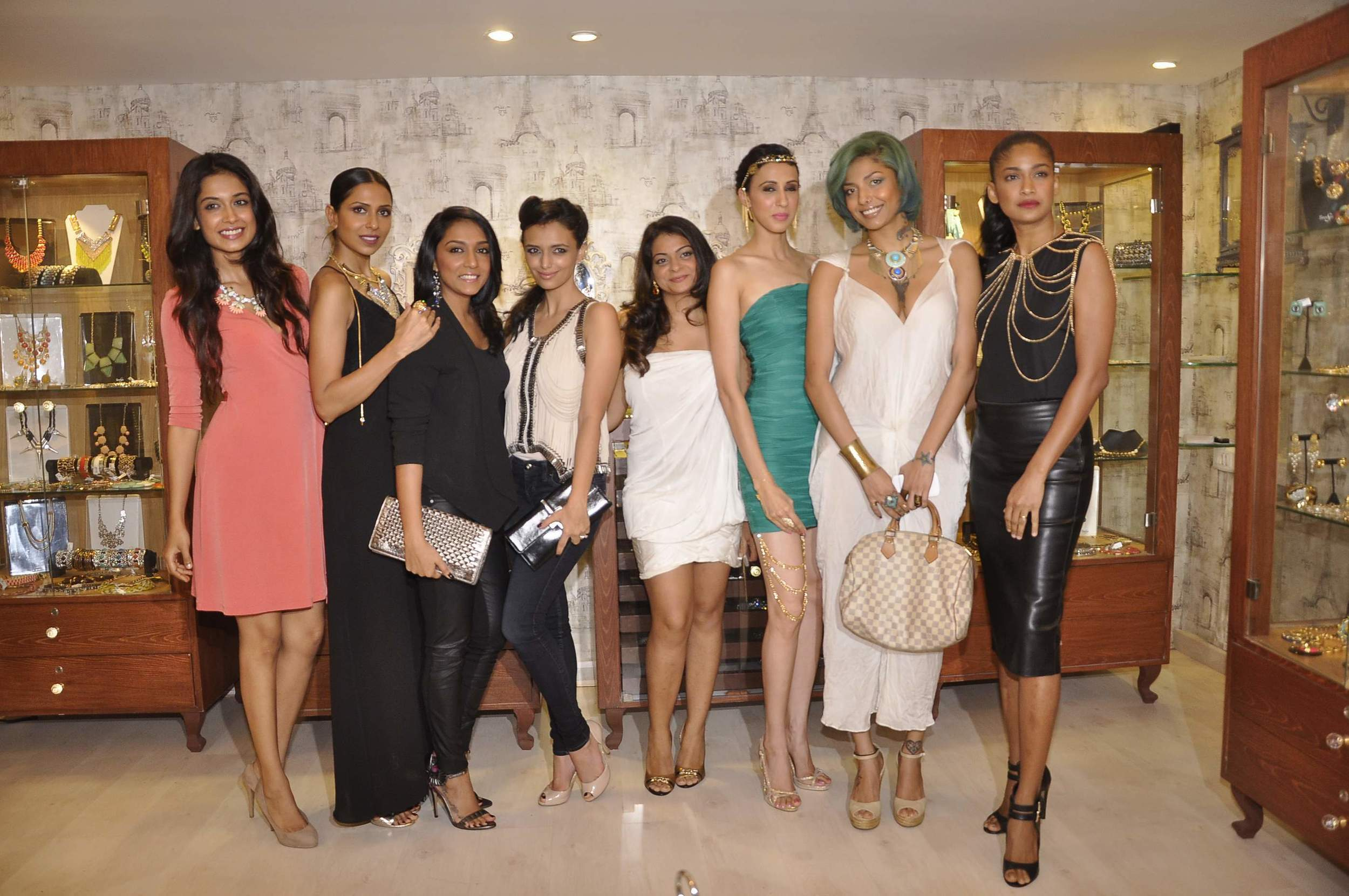 Bansri Mehta with her muses...