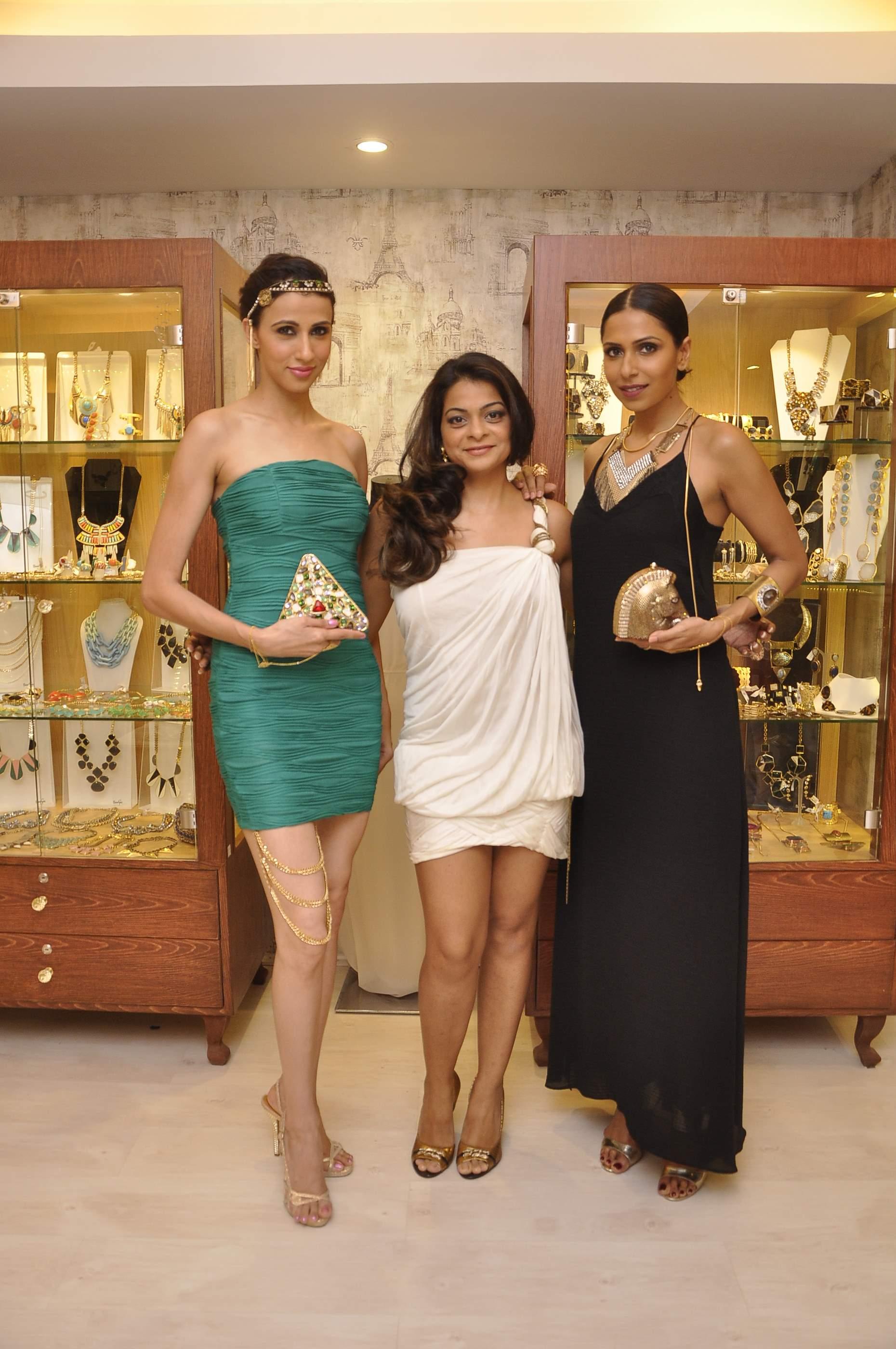 Bansri Mehta with Candice & Alesia wearing Jewels by Bansri
