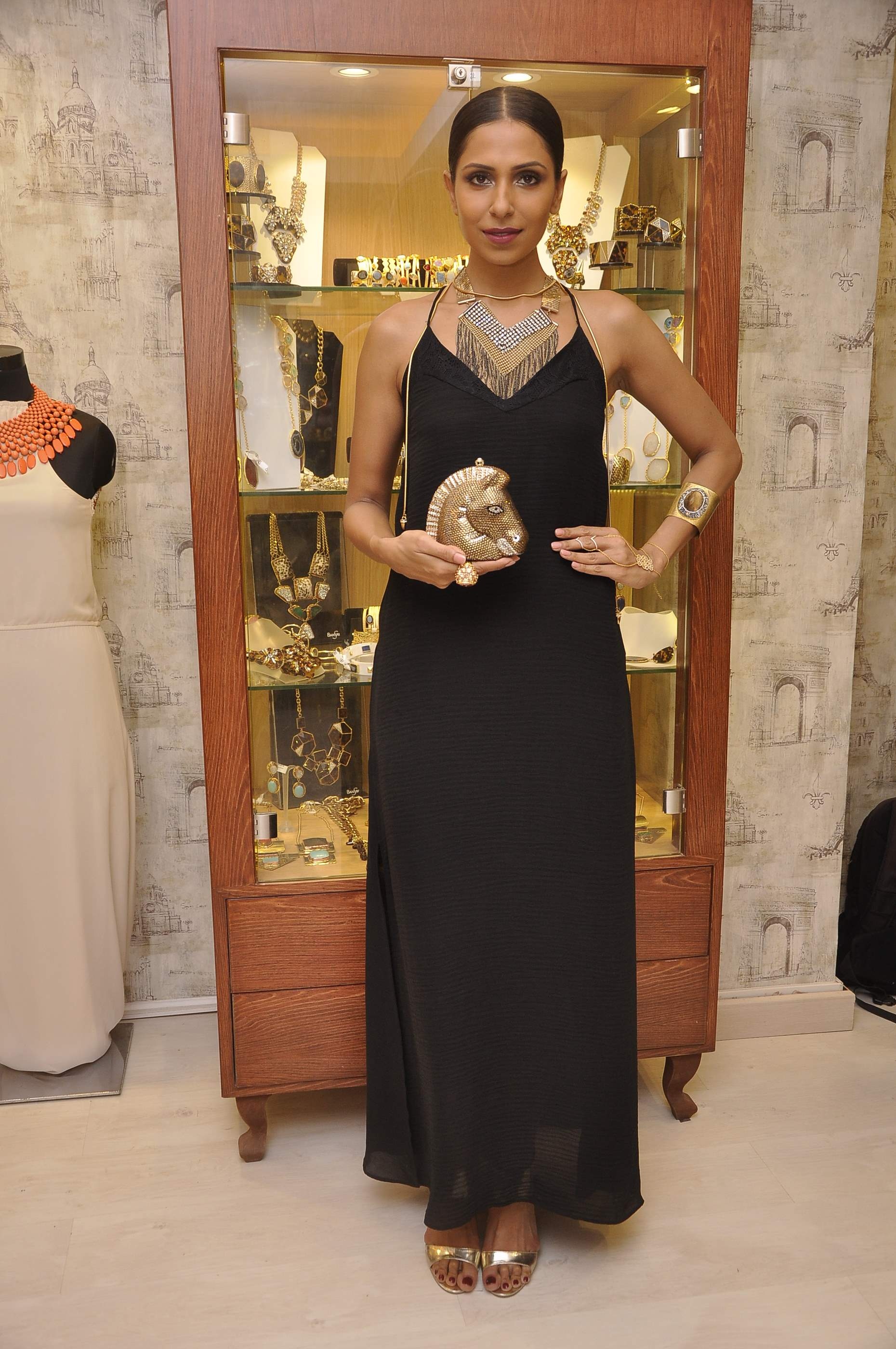 Candice Pinto in jewels by Bansri Mehta