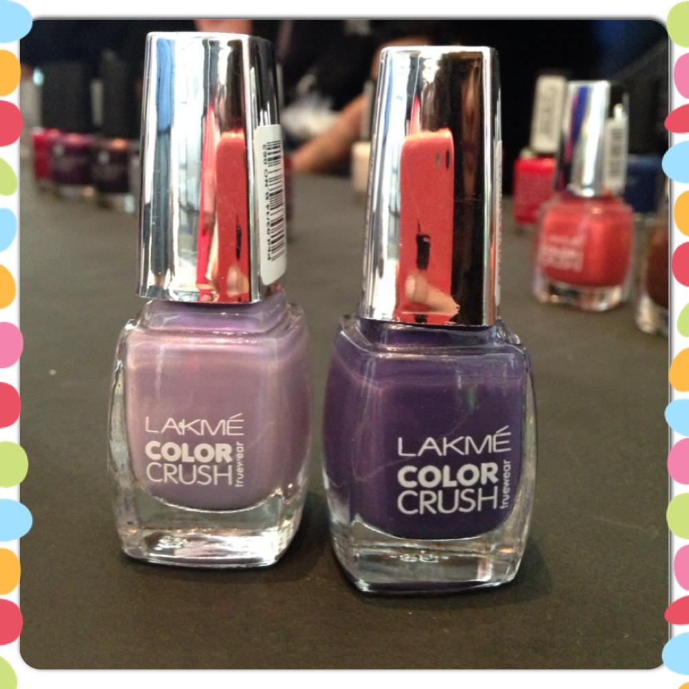 Lavender from Lakme Colour Crush