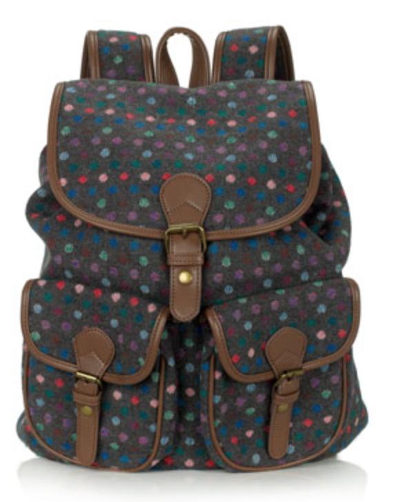 Tweed Backpack