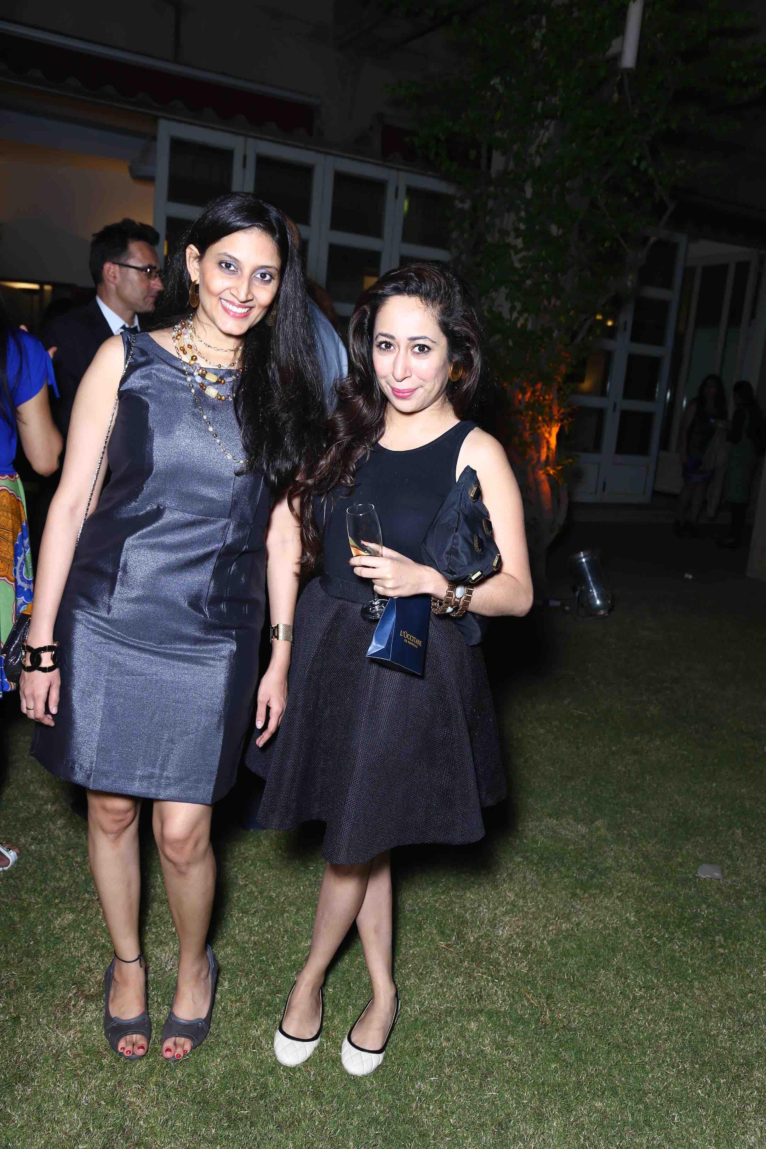 Mitsu Dhwan with Nandini Bhalla