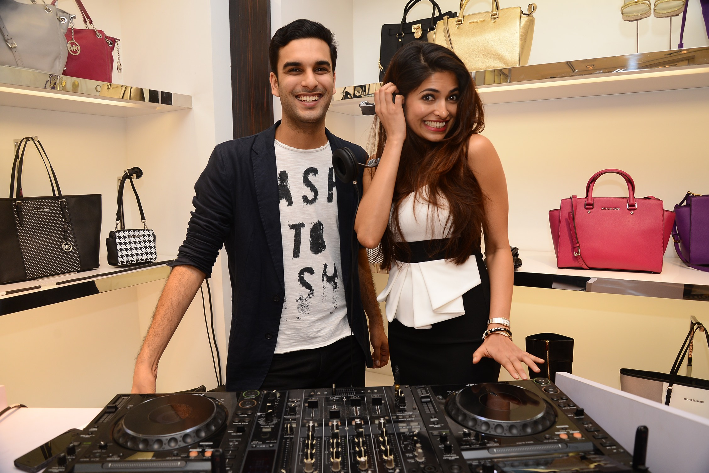 DJ Anish Sood and Parvathy Omanakuttan