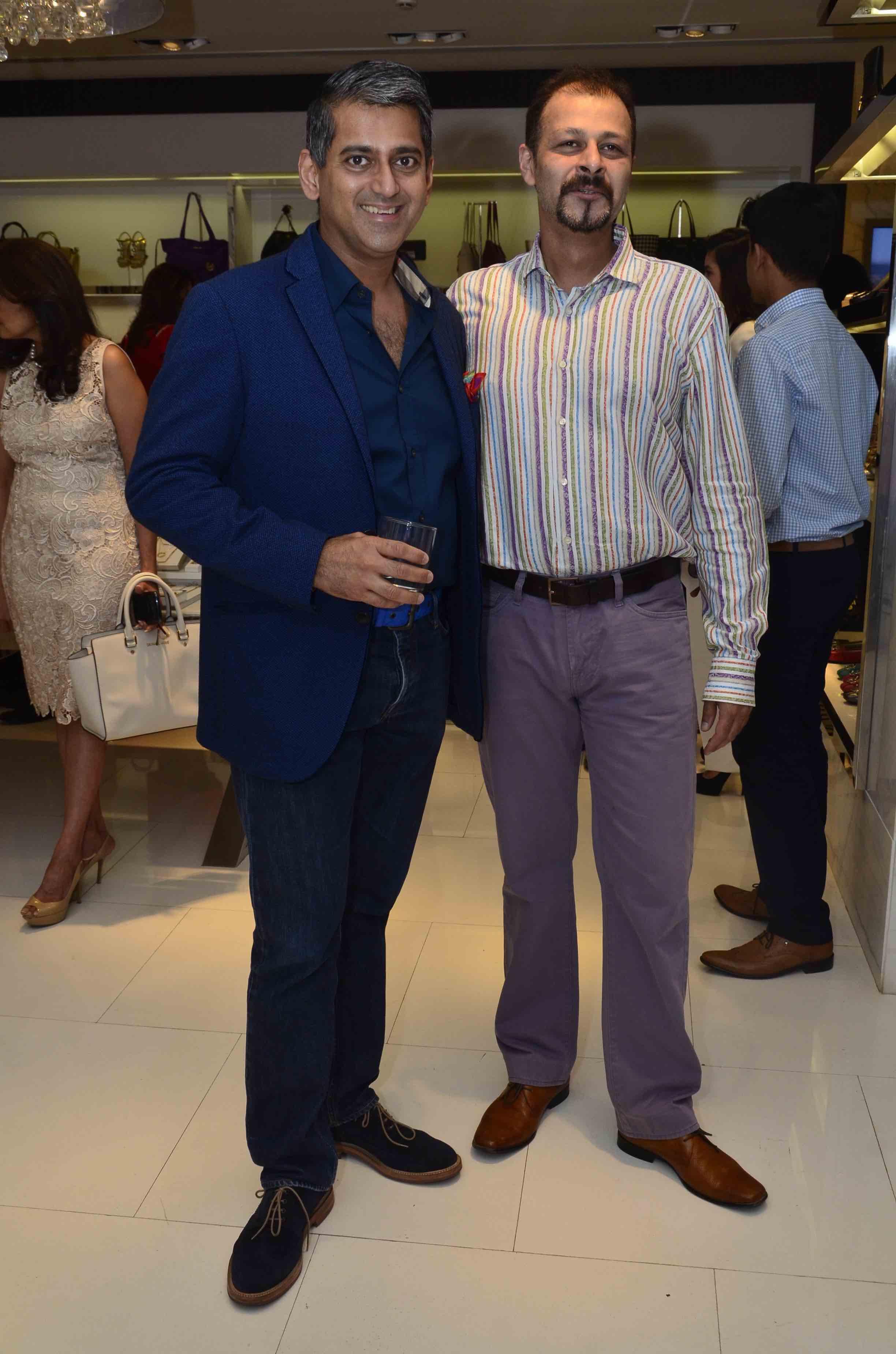 Sanjay Kapoor and Atul Ruia
