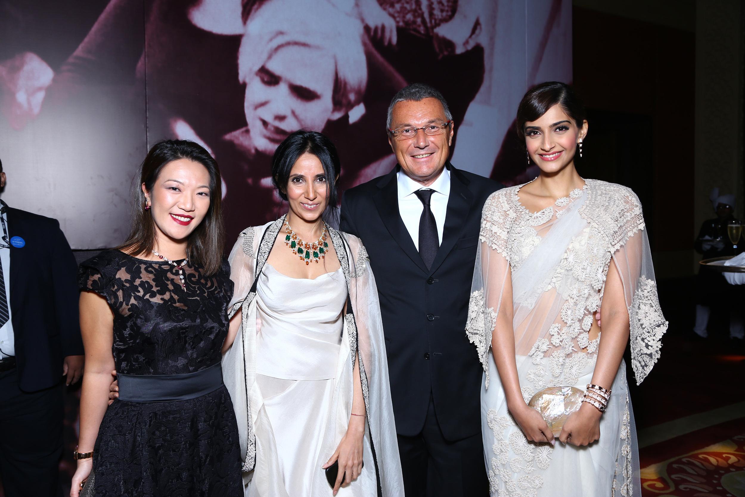 Wei Ling, Anamika Khanna, Arjun Rampal and Sonam Kapoor