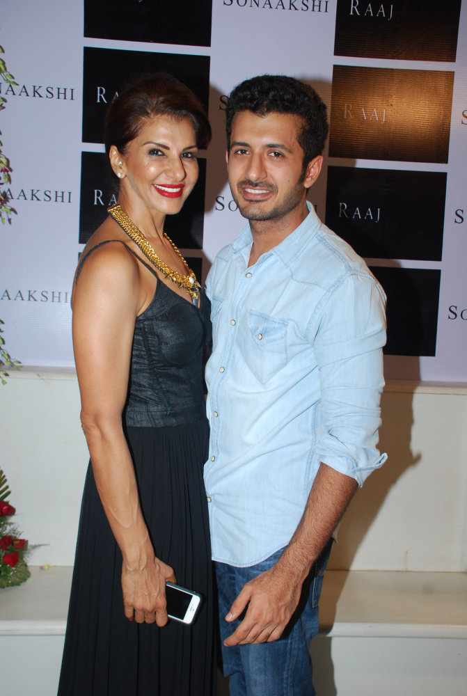 Anita Raaj with son Shivam