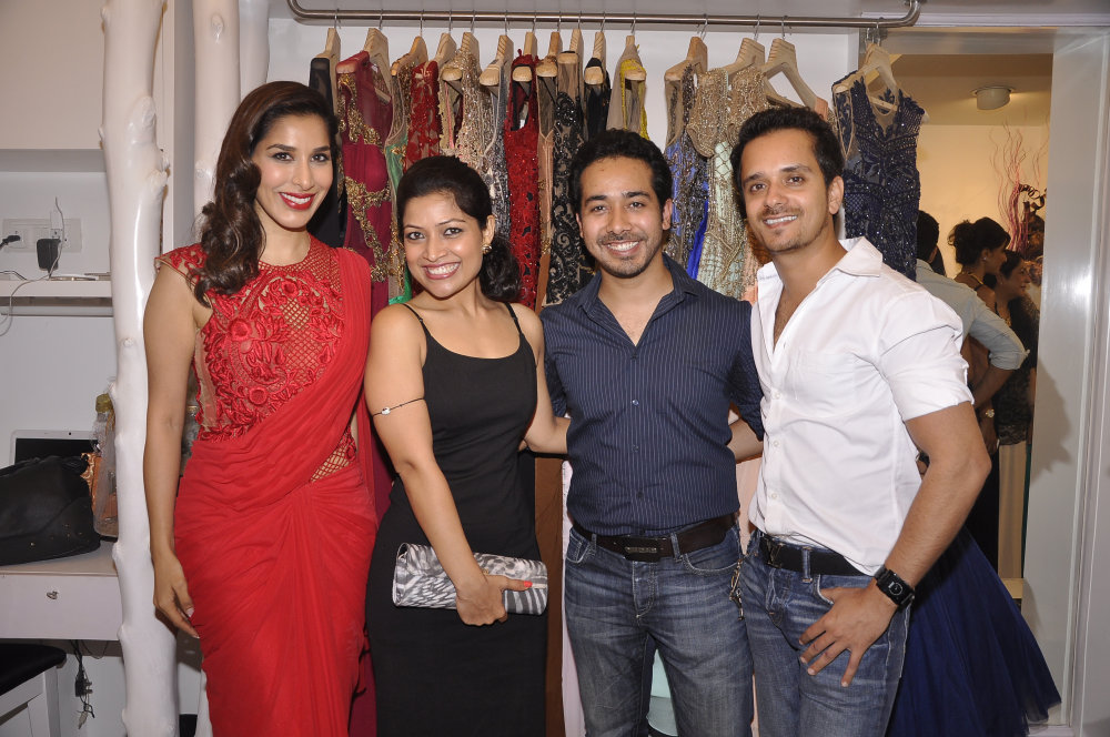 Sophie Chaudry, Ameeta Pathak Sanchar, Abhisheek Pathank and Raghav Sanchar