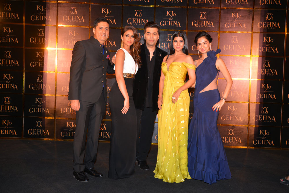 Sunil Datwani,Ileana D'cruz,Karan Johar, Nimrat Kaur and Kiran Datwani