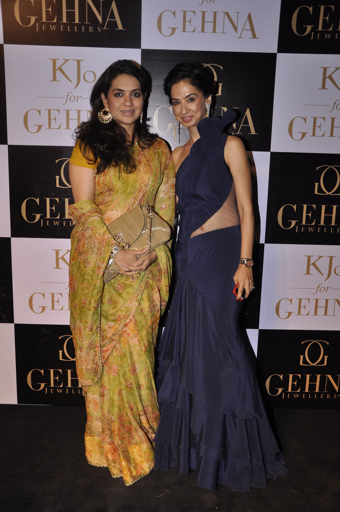 Shaina NC with Kiran Datwani