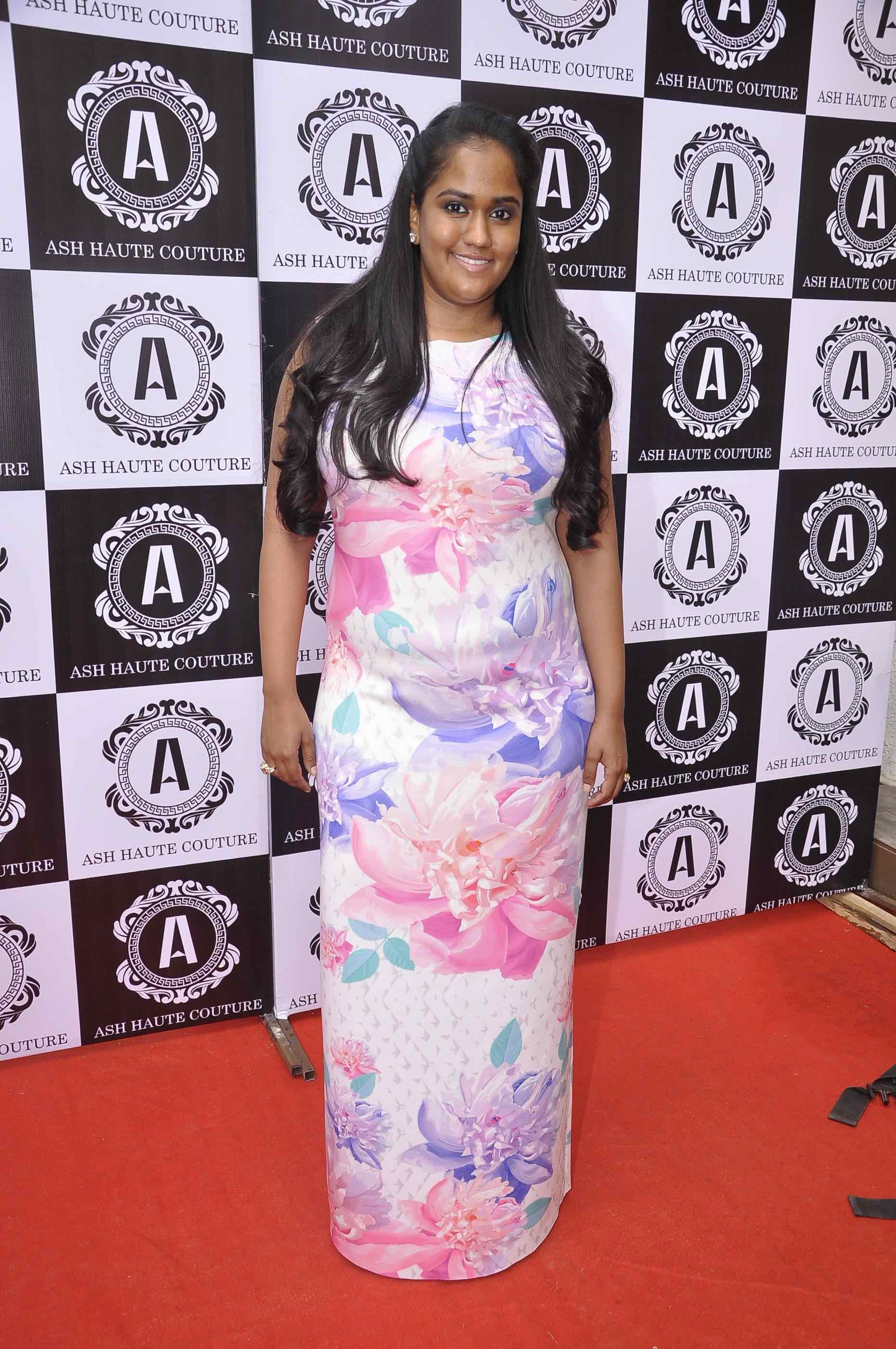 Arpita Khan Sharma in Ash Haute Couture