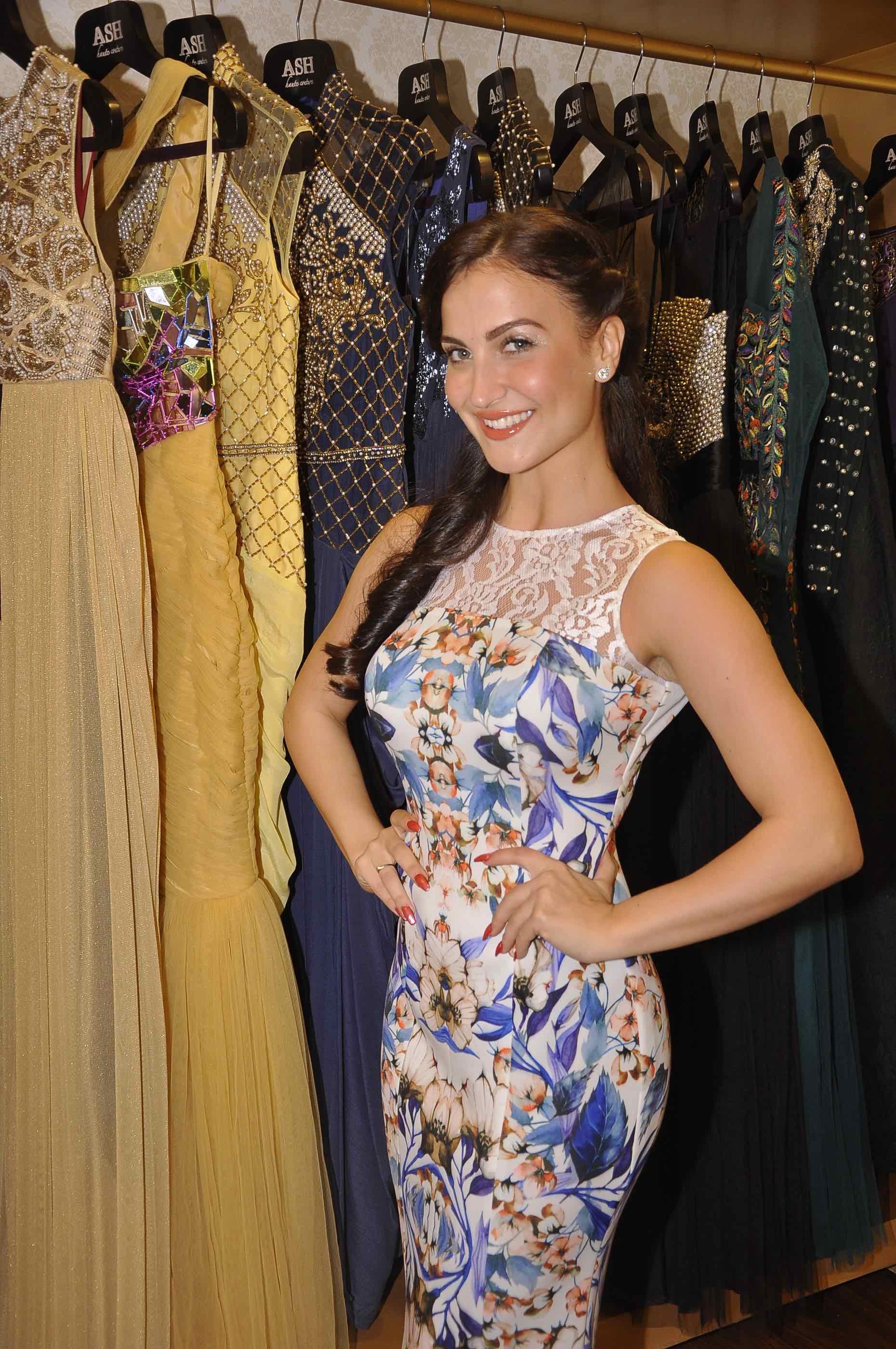 Eli Avram in Ashna Kalra Ash Haute Couture