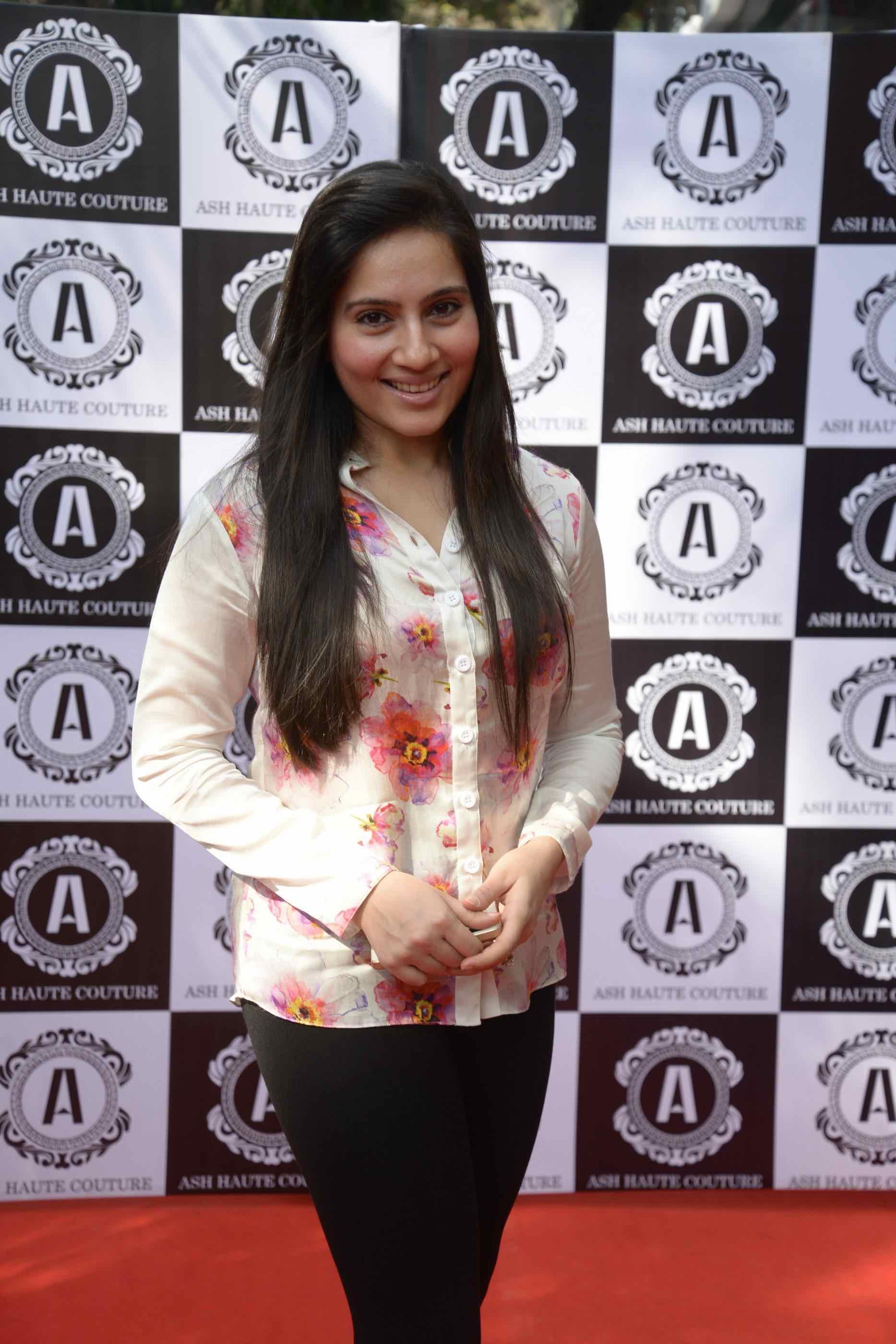 Kanchi Kaul in Ashna Kalra Ash Haute Couture
