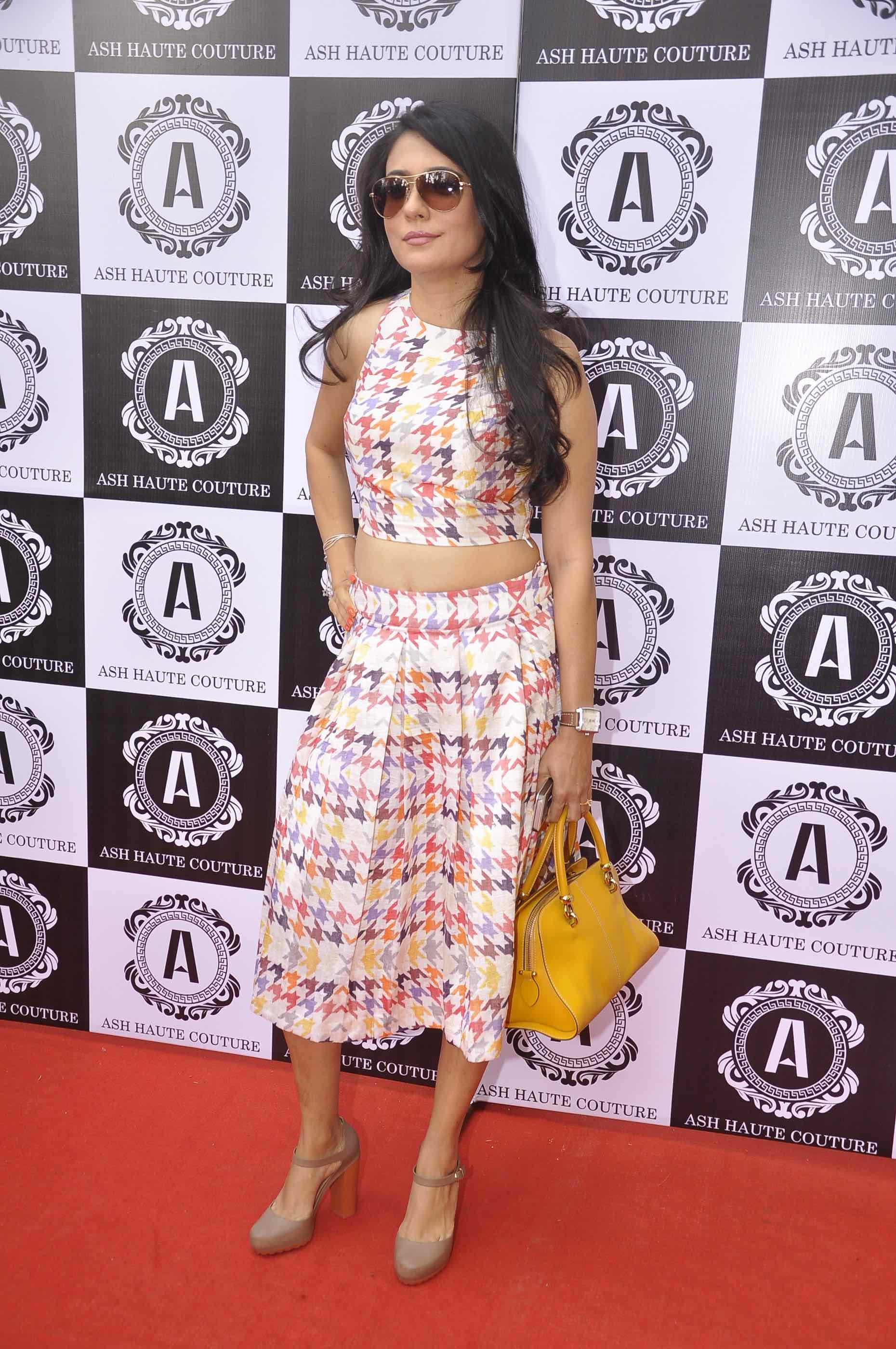 Mini Mathur in Ashna Kalra Ash Haute Couture