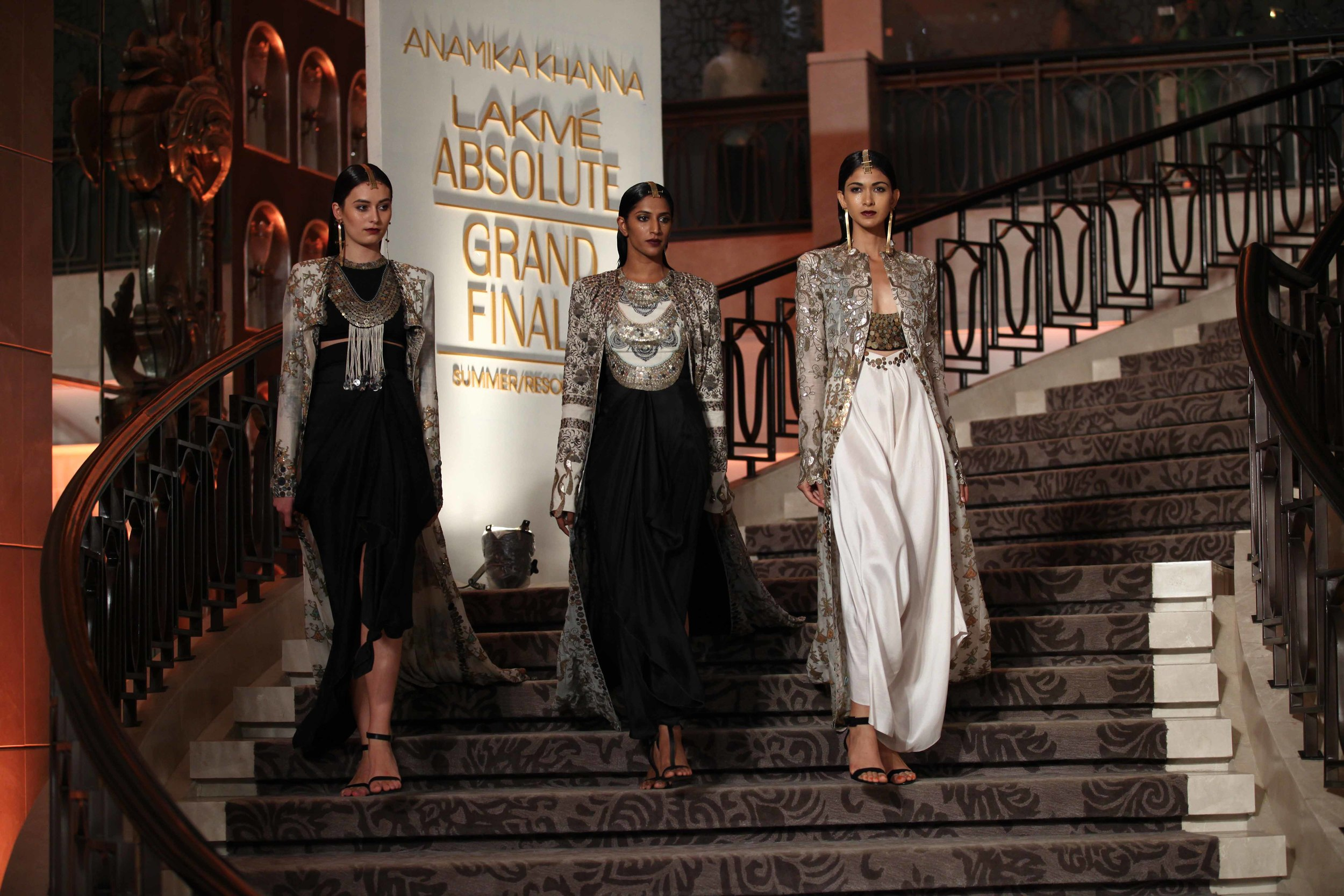 Anamika Khanna - Grand Finale - Lakme Fashion Week Summer/Resort 2015