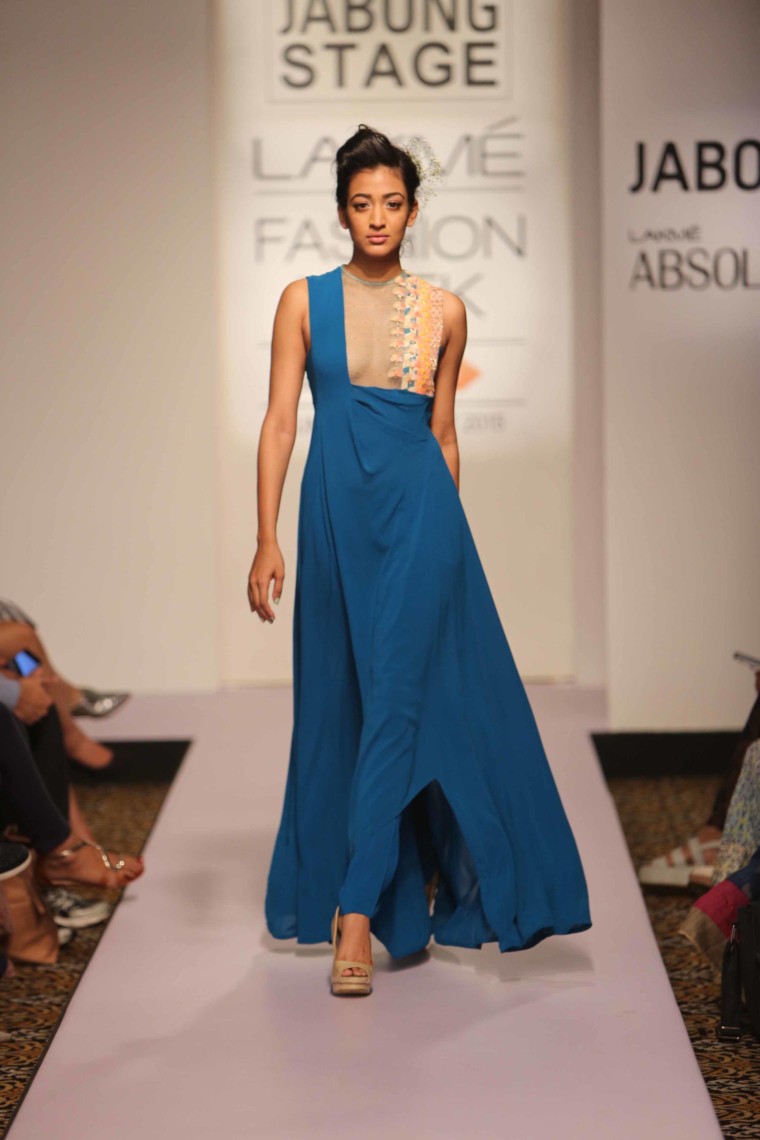 Madsam Tinzin - Lakme Fashion Week Summer/Resort 2015