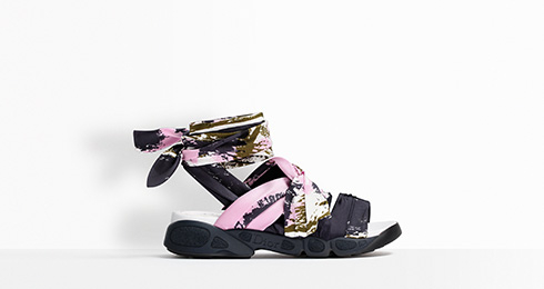 Sandals from Dior. Photo Credit: Dior.com