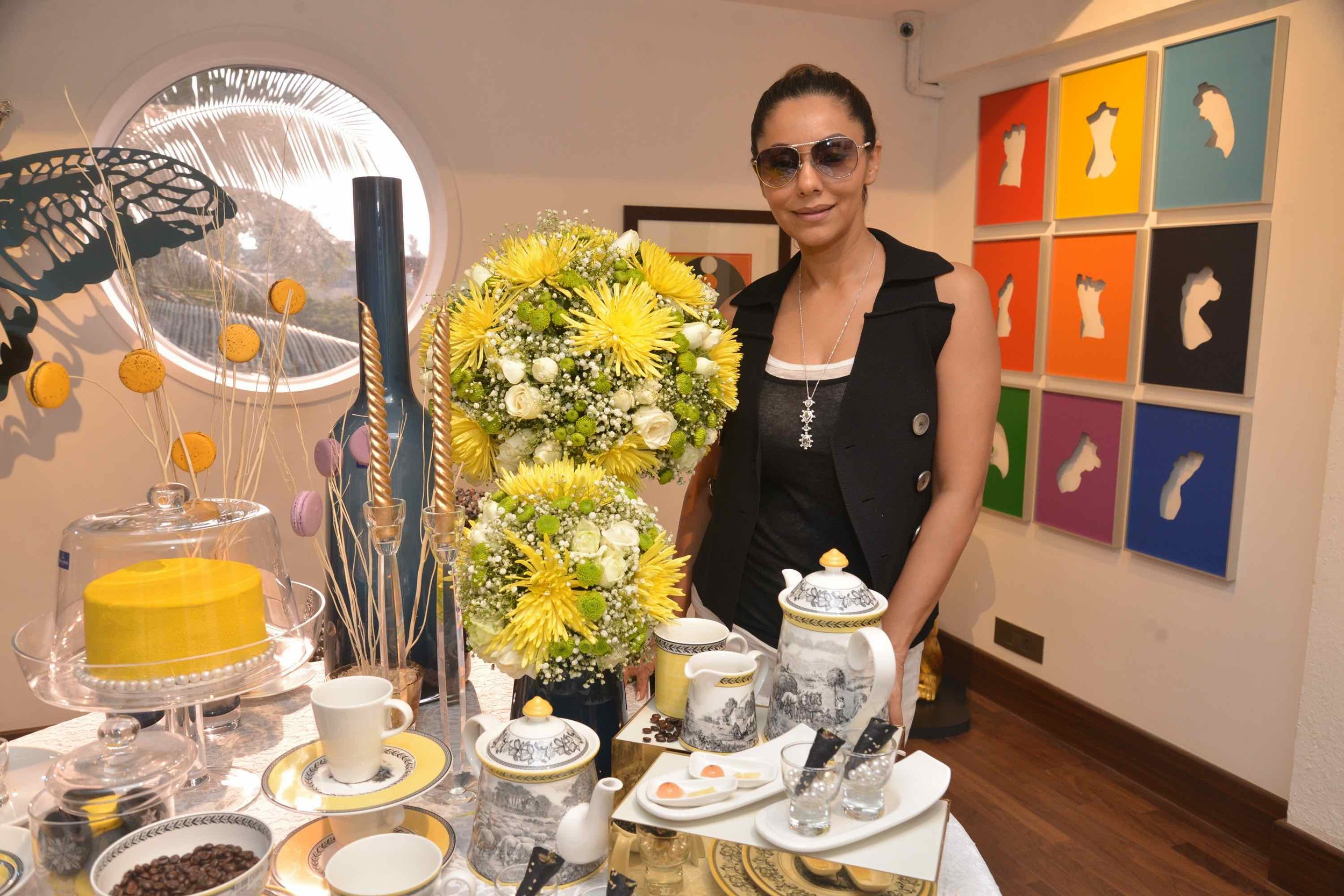 Gauri Khan At The Villeroy & Boch High Tea