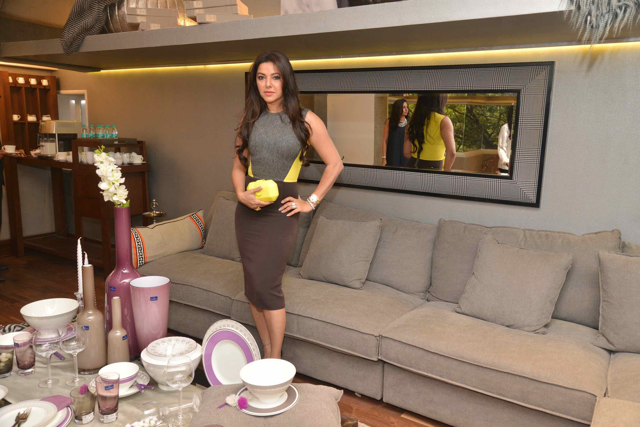 Kahkashan Patel At The Villeroy & Boch High Tea