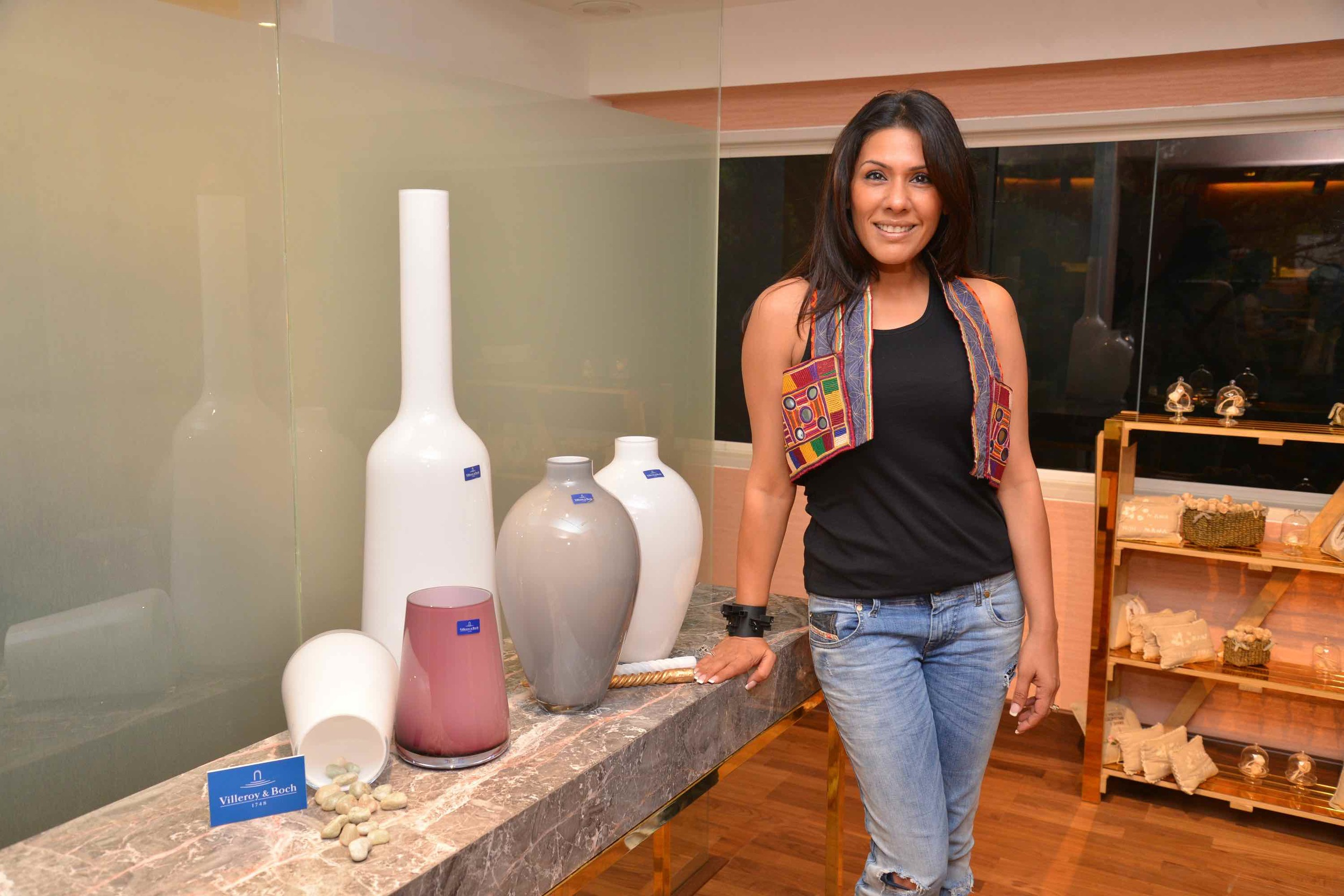 Reshma Merchant At The Villeroy & Boch High Tea
