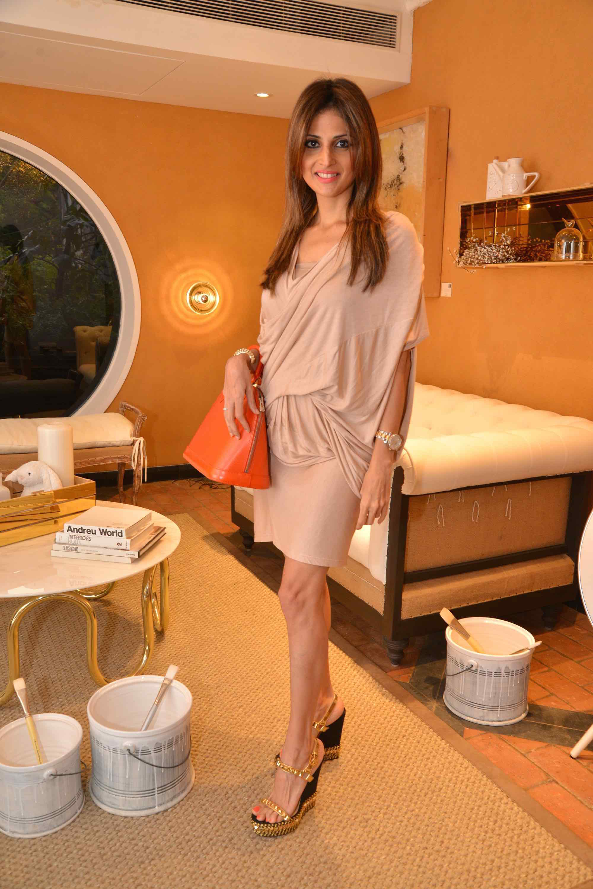 Tanaaz Doshi At The Villeroy & Boch High Tea